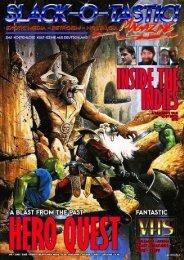Slack-O-Tastic Magazine #1
