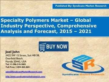 Specialty Polymers Market