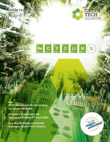 Green Tech Magazine, 1, 2016 deutsch