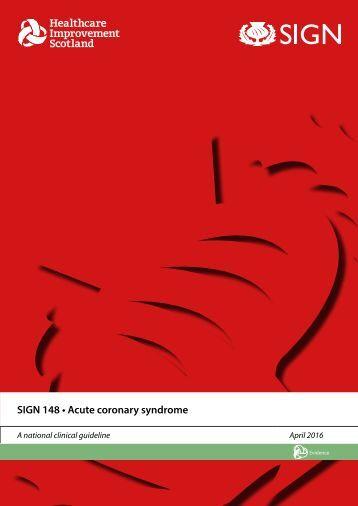 SIGN 148 • Acute coronary syndrome