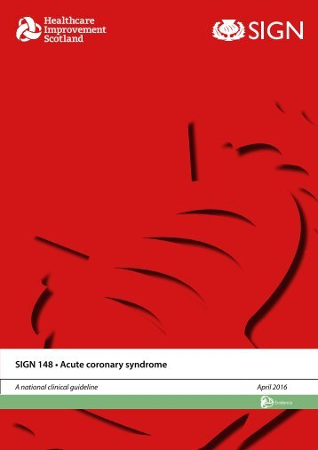 SIGN 148 • Acute coronary syndrome