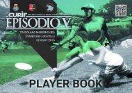 CURIF 2016 - player book