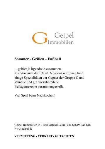 Geipel Magazin -Sonderausgabe zur EM-