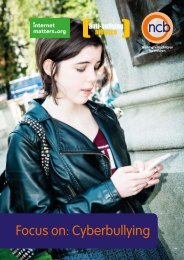 Focus on Cyberbullying