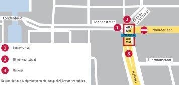 Plan werfzone plaatsing Parkbrug op za 11/06