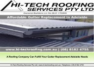 How You Can Fulfill Your Gutter Replacement Needs in Adelaide