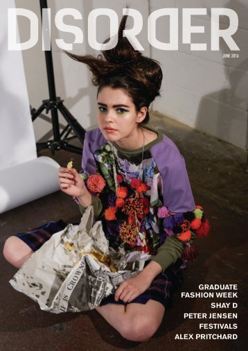 GRADUATE FASHION WEEK SHAY D PETER JENSEN FESTIVALS ALEX PRITCHARD