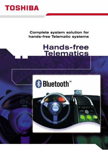 Complete system solution for hands-free Telematic systems