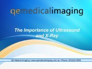 The Importance and Risk of Ultrasound and X-Ray Tests
