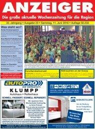 Anzeiger Ausgabe 23/16