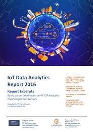IoT Data Analytics Report 2016