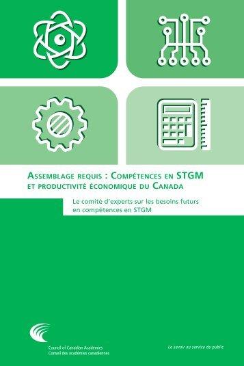 ASSEMBLAGE  COMPÉTENCES STGM CANADA