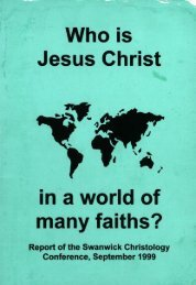 Who is Jesus Christ in a world of many faiths?