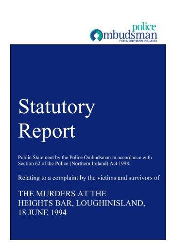 Statutory Report