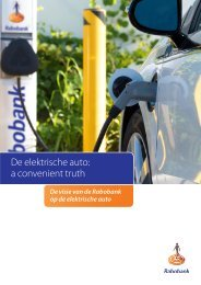 De elektrische auto a convenient truth