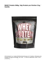 Whey-Protein-Vanille