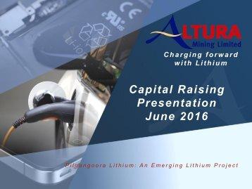 Presentation June 2016