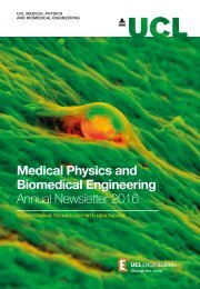 Medical Physics and Biomedical Engineering Annual Newsletter 2016
