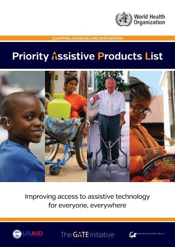 Priority ssistive Products List