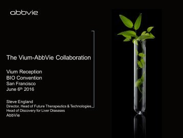 The Vium-AbbVie Collaboration