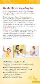 »Yoga Urlaub 2014« - Page 5