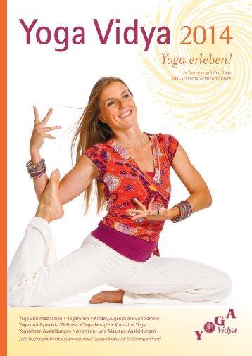 »Yoga Vidya 2014« Katalog