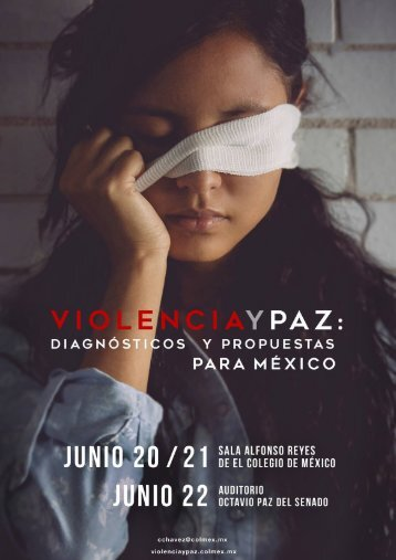 VIOLENCIAYPAZ.COLMEX.MX PROGRAMA DE LA CONFERENCIA !1
