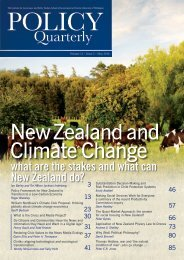 New Zealand and Climate Change