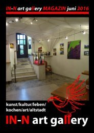 IN-N art gallery Magazin 2, Juni 2016