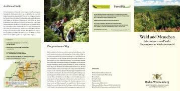 Wald und Menschen - Nordschwarzwald Nationalpark