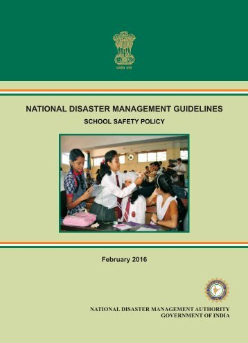 National Disaster Management Guidelines School Safety Policy