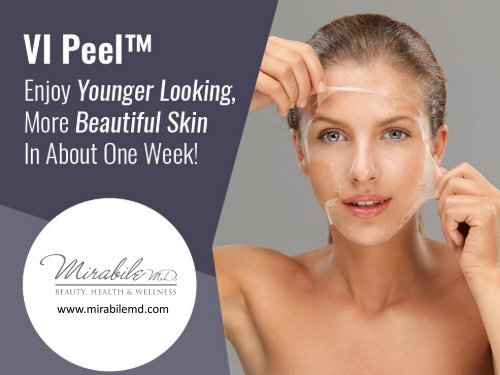 Things You Need to Know About VI Peel Treatment