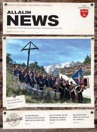 Allalin News Nr. 8 - SAAS-FEE | SAAS-GRUND | SAAS-ALMAGELL | SAAS-BALEN