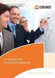 Unternehmensbroschüre CURAMUS GmbH