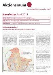 Aktionsraum plusNord-Marzahn/Nord-Hellersdorf Newsletter Juni ...