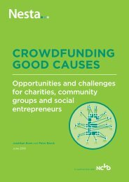 CROWDFUNDING GOOD CAUSES