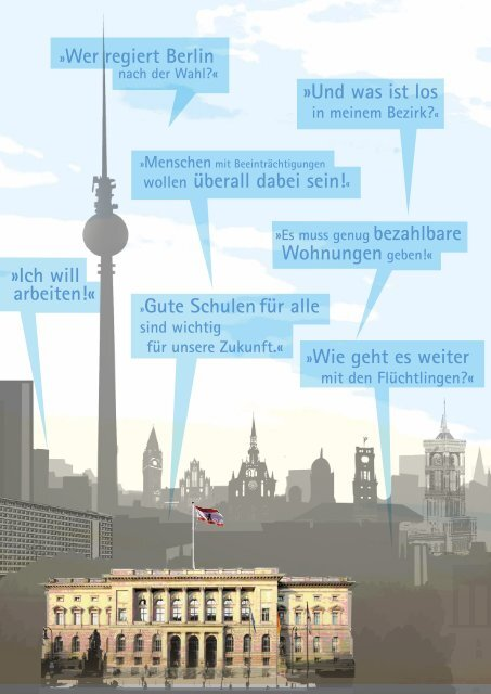 » Berlin wählt – ich auch! «