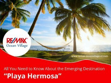 Playa Hermosa – Emerging Real Estate in Costa Rica