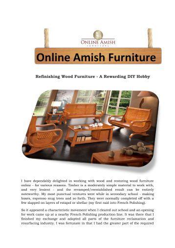 Advantages of selecting wood furniture online for Build furniture online