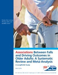 and Driving Outcomes in Older Adults A Systematic Review and Meta-Analysis
