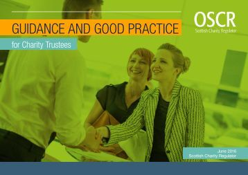 GUIDANCE AND GOOD PRACTICE