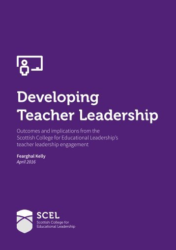 Developing Teacher Leadership