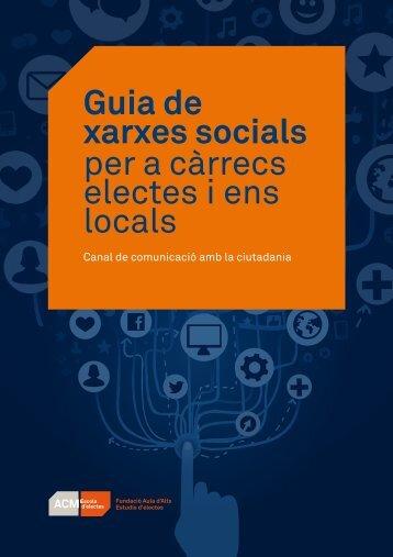 Guia de xarxes socials per a càrrecs electes i ens locals