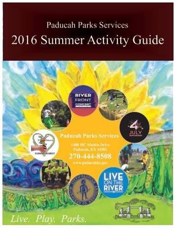2016 Summer Activity Guide
