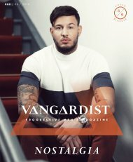 VANGARDIST Magazine | Issue 60 | The Nostalgia Issue | Philippe Gazar