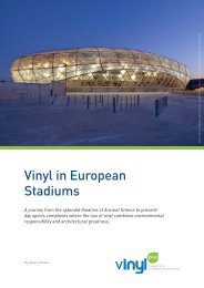 Vinyl in European Stadiums