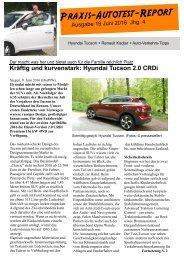 Starkes Hyundai-SUV: Praxis-Autotest-Report