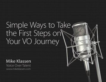 Simple Ways to Take the First Steps on Your VO Journey
