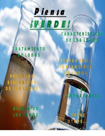 Revista tratamiento de lodos