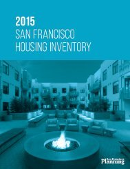 2015 SAN FRANCISCO HOUSING INVENTORY